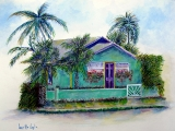 <h5>Green Cottage</h5><p>Watercolor $150</p>