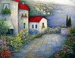 <h5>Sea Terrace</h5><p>Oil on Canvas $700</p>