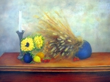 <h5>The Floyer Table</h5><p>Oil on Canvas $800</p>