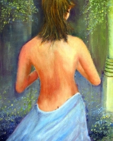 <h5>Joyful Solitude</h5><p>Oil on Canvas $400</p>