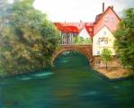 <h5>Old Nuremberg</h5><p>Oil on Canvas $450</p>