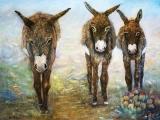 <h5>Three Donkeys</h5><p>Oil $700</p>