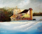 <h5>Winter Hush</h5><p>Oil on Canvas $300</p>