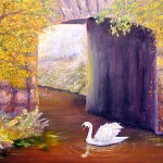 The Swan at Mabry Mill