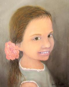 Kylie Portrait - in Private Collection