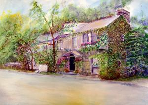 "Inn At Phillips Mil   -  Pastel on Archival Paper16x12""  -  $400"