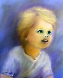 """Wonder of Childhood. 9x12"""". Book Illustration - sold."""